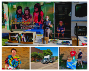 Bookmobile was the star at LBA