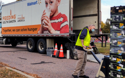 Mobile Food Pantry Returns to LBA