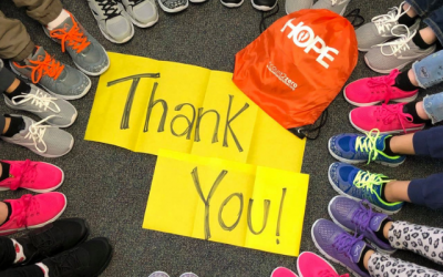 Thrive Partners with Samaritans Feet: 480 New Pairs of Shoes Given to Students