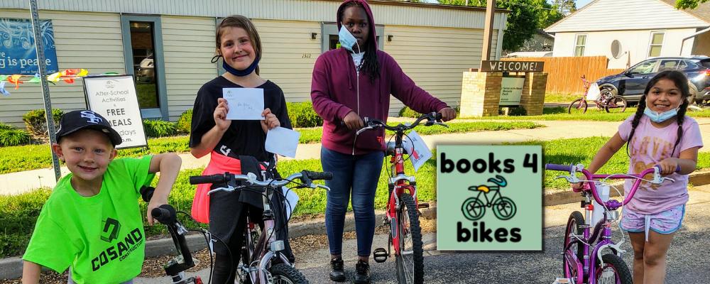 Books for Bikes winners